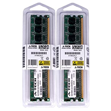 【クリックで詳細表示】1?GBキット( 2?x 512?MB ) for Gigabyteマザーボードga-ep45-extreme Rev 1.0?ga-ep45-ud3?ga-ep45-ud3l。DIMM ddr2?Non - ECC pc2???5300?667?MHz RAMメモリ。A - Techブランド純正。