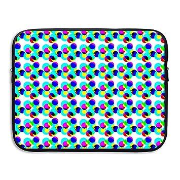 be1c81b35335 Amazon.com: CHJOO Briefcase Laptop Messenger Bag Slim Sve Trippy ...
