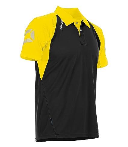 Stanno Riva Polo Anthracite de Black, Color Negro/Amarillo, tamaño ...