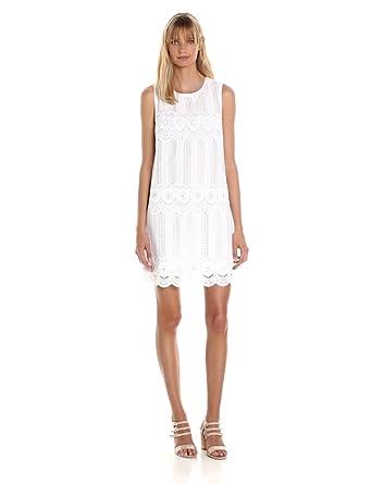 Mixed venice lace shift dress by laundry