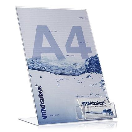 Din A4 Werbeaufsteller L Ständer L Aufsteller Mit Extra