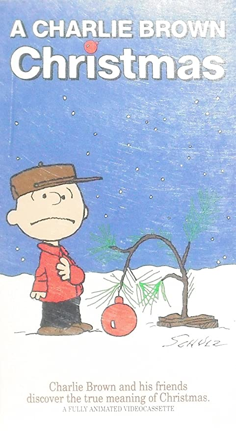 A Charlie Brown Christmas Vhs.A Charlie Brown Christmas Vhs Tape