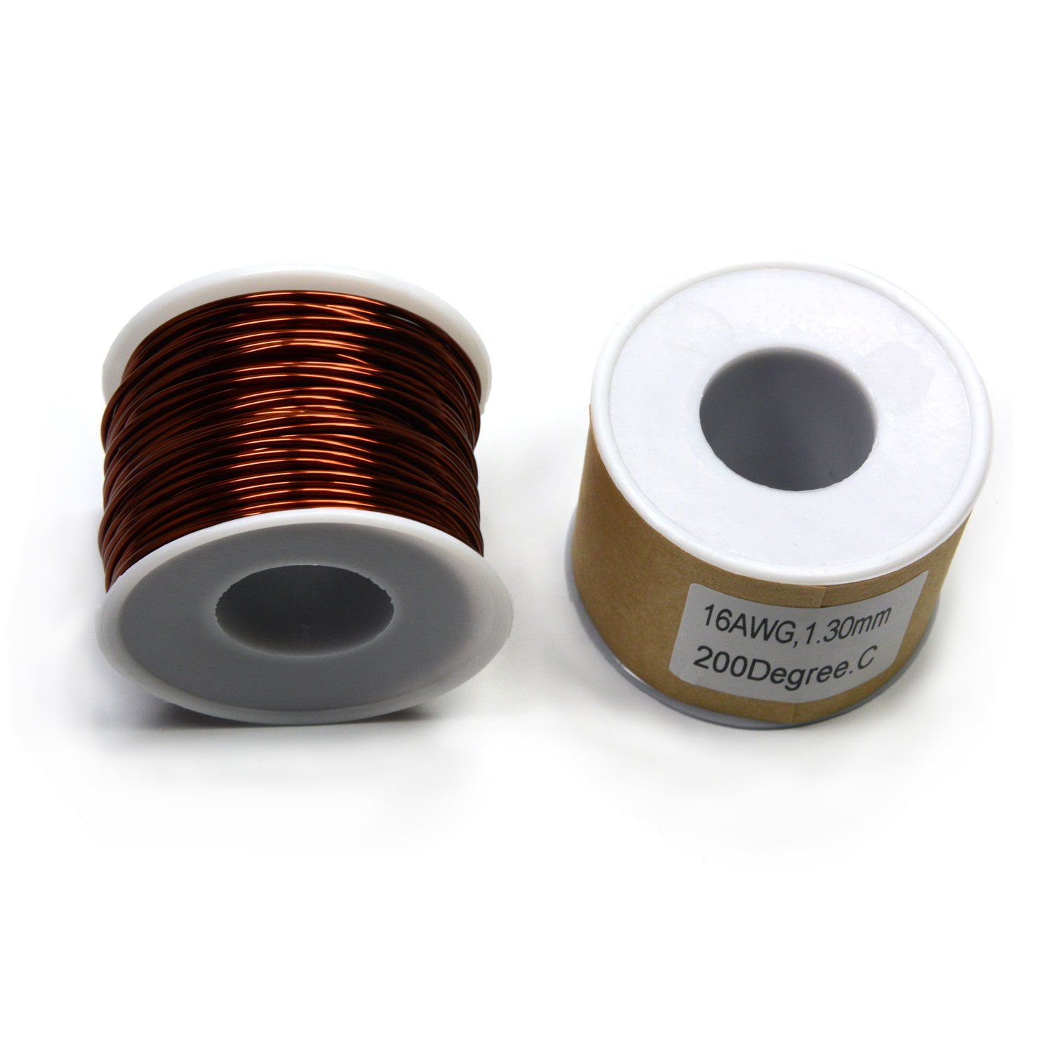 CMS Magnetics Magnet Wire Enameled 16 Gauge One LB Spool