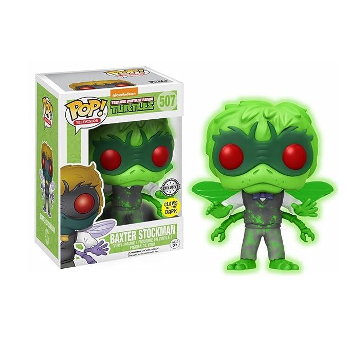 Funko - Teenage Mutant Ninja Turtles: Baxter Stockman Glows ...
