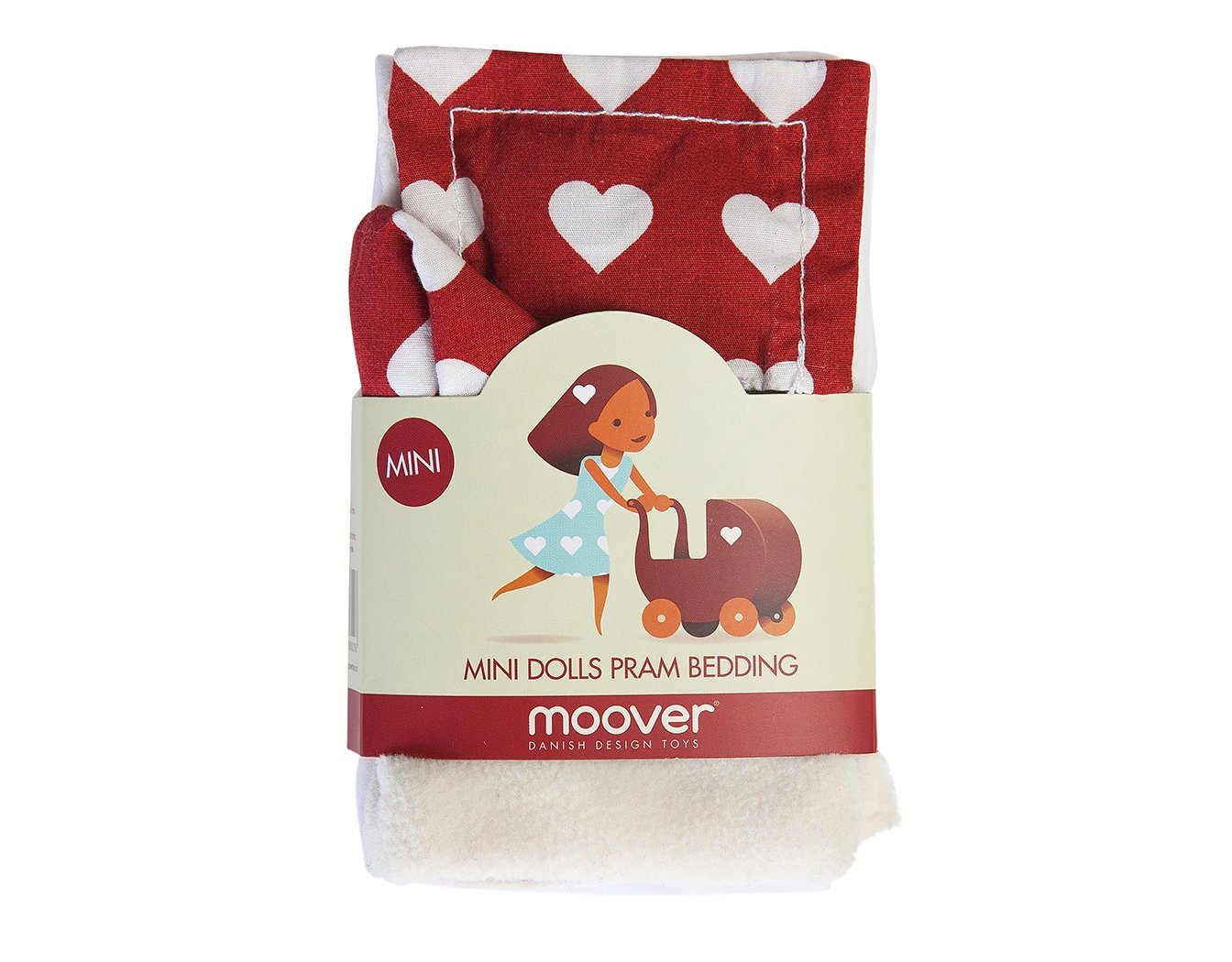 Moover Mini Pram Bedding Set (Blue) MVPRAMMINIBSBL