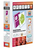 Elba Panorama Presentation Binder PVC 3 Cover Pockets 4 D-Ring 50mm A4 White Ref 128907 [Pack 10] [per Pack: 10]
