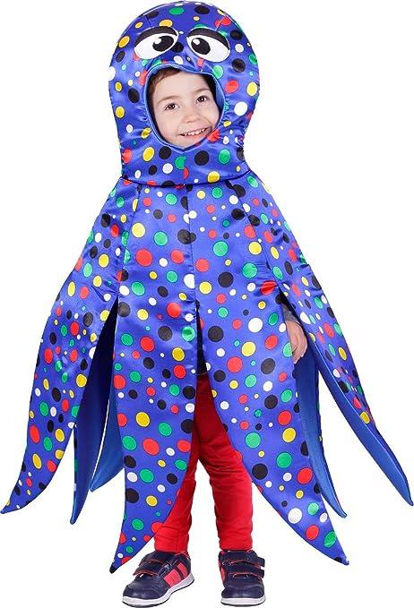 Disfraz de pulpo para niño - 5-7 años: Amazon.es: Juguetes y juegos
