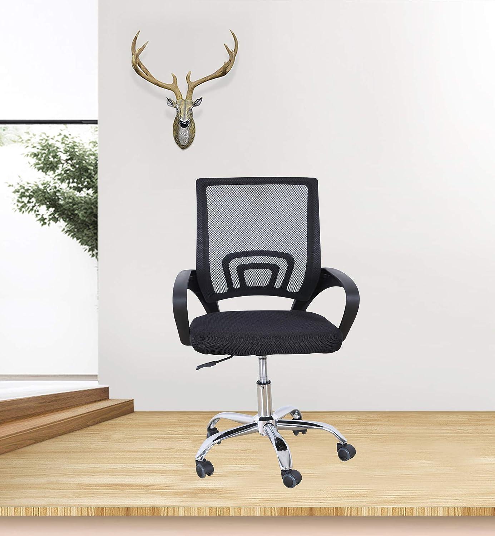 Black Office Task Desk Chair J...