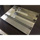 Now & Ever Stainless Steel Modular Kitchen Portable Cutlery Tray ( 14 Width X 19 Depth X 2 Height) Inches