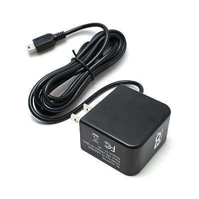 EDO Tech Mini USB AC Adapter Wall Charger Plug for Garmin Nuvi Drive 50 40lm 50lm 52 60 255w 265w 550 620 1300 1350 1450 2577lmt 2599lmt 2597lmt 2589lmt Dezl 570lmt Zumo eTrex Vista Legend Oregon GPS: GPS & Navigation