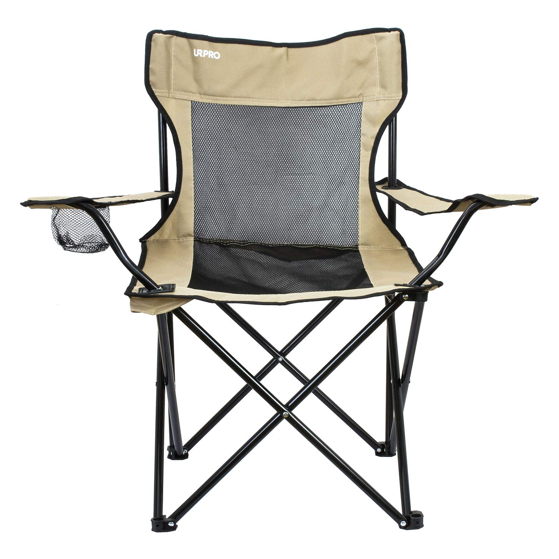 URPRO Sillas,Silla Camping Silla Playa para Camping Pesca Silla de Camping Ligera Azul Marino Playa Senderismo