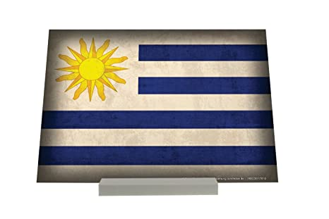 Soporte Fotografias Agencia De Viajes Vacaciones bandera de Uruguay