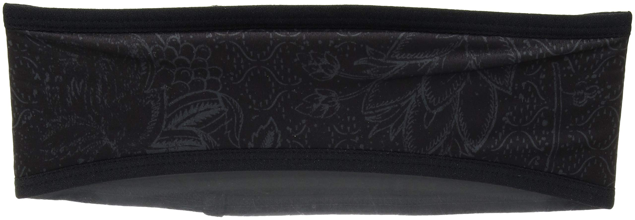prAna Women's Kenmont Headband Cold Weather Hats, One Size, Black Rosewood