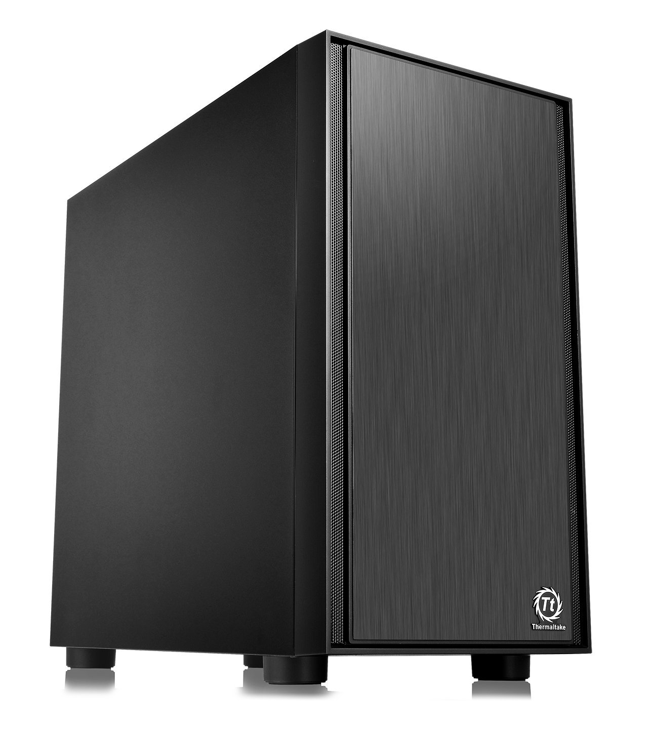 Thermaltake Versa H17 Black Micro ATX Mini Tower Gaming Computer Case 2.0 Edition with One 120mm Rear Fan Pre-Installed CA-1J1-00S1NN-A0 by Thermaltake