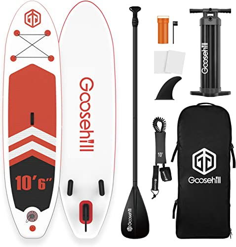 Goosehill Latest SCE Technology Inflatable Stand Up Paddle Board Rainbow R Energy
