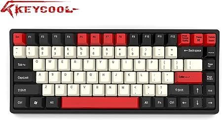 Keycool Hero 84 2019 Edition Teclado mecánico Cherry MX interruptores Mini Gaming 84 Teclas Teclado