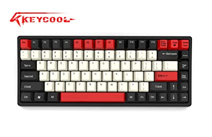 Keycool Hero 84 2019 Edition Mechanical Keyboard Cherry MX Switches Mini  Gaming 84 Keys Keyboard (Cherry MX Red)