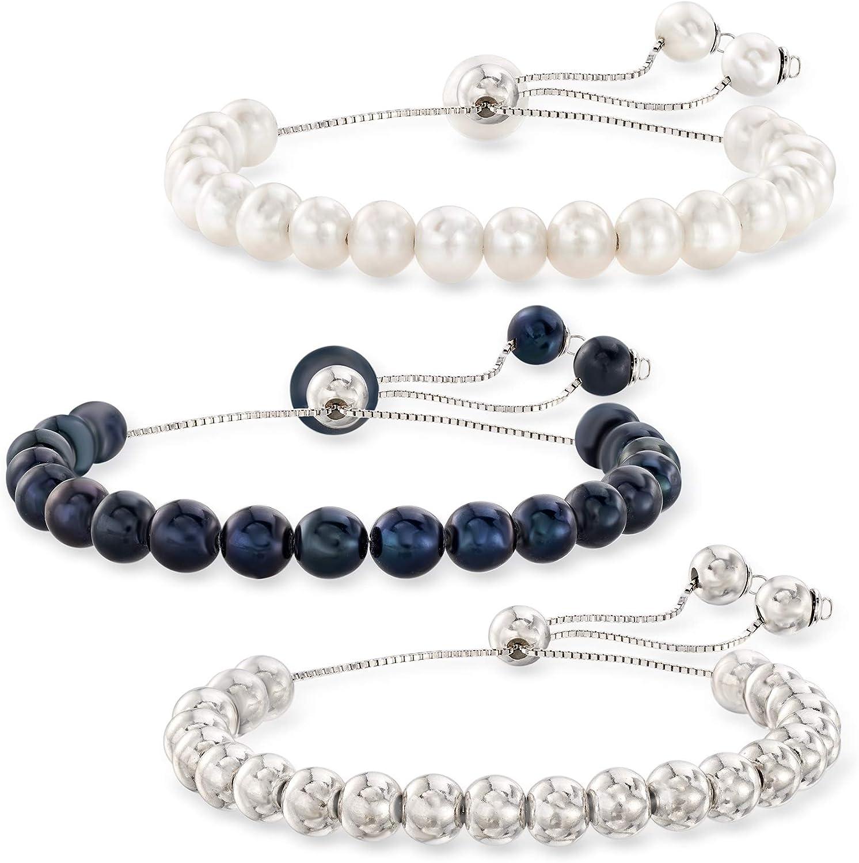 Ruby plain gemstone ball beaded bracelet B0030