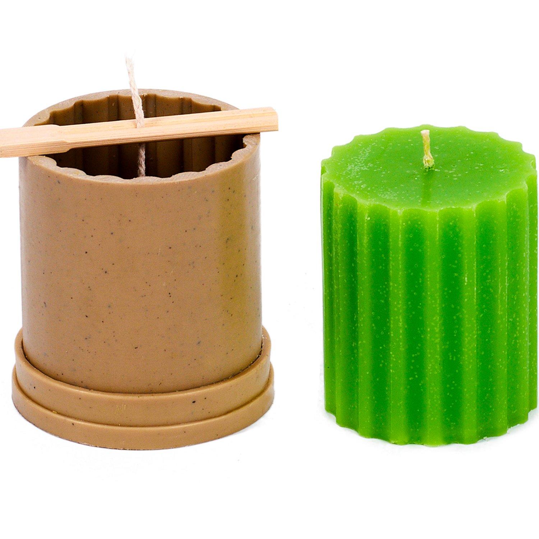 Amazoncom Candle Shop  Ylinder Rif Mold  Height 31