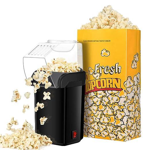 IKICH Popcorn Machine Palomitero, Maquina de Palomitas de Aire ...