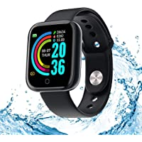 Smartwatch, activiteitstracker, hartslag- en slaapmonitor, 1,3 inch touch-fitnesstracker, waterdicht, sport…