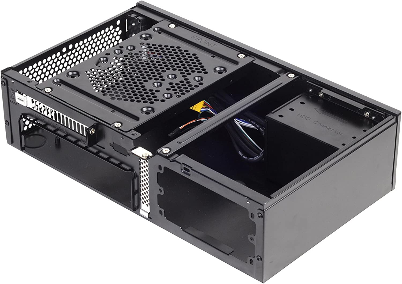 Silverstone SST-ML05B - Carcasa de Ordenador silenciosa Milo Slim ...