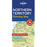 Lonely Planet Northern Territory Planning Map