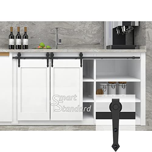 Modest Sliding Door Cabinet Set