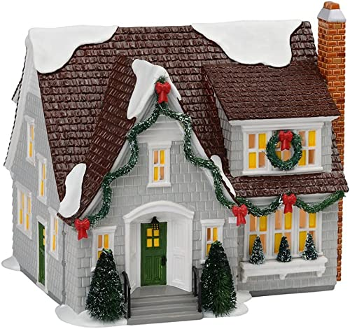 Dept 56 Snow Village Lynnhaven House Gray 2013