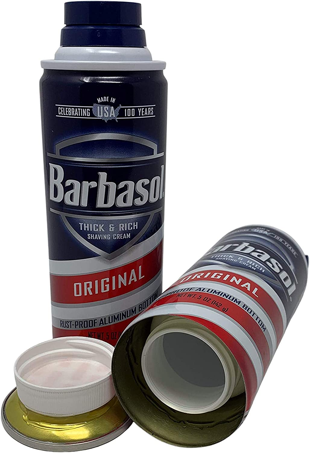 Shaving Cream Diversion Safe Stash Can Hidden Compartment Container for Hiding Money, Jewelry, and Other Valuables