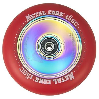 Roue Metal Core disc pU couleur rouge, Core Rainbow, diamètre 110mm