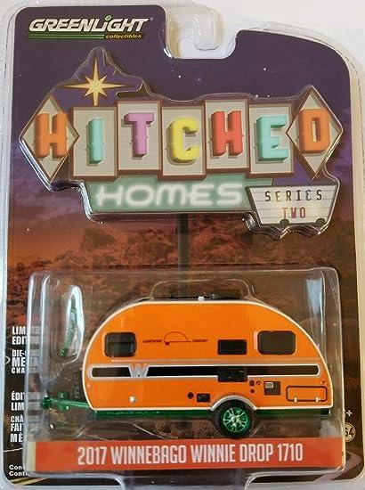 Greenlight  Hitched Homes Series 2   2016 Winnebago Winnie Drop 1710 camper