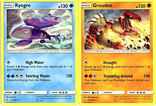 Pokemon Kyogre 53//236 Holo Foil Rare