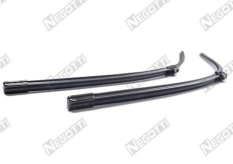 NEGOTTI Limpiaparabrisas 2 Piezas para Parabrisas Juego de G 550 mm/550