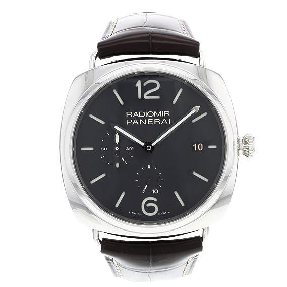 Panerai PAM00323 / 2 - Reloj de pulsera hombre, Cuero, color Marrón oscuro