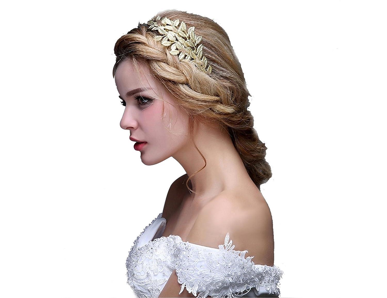 Amazon Oumou Greekroman Goddess Accessories Gold Leaf Crown