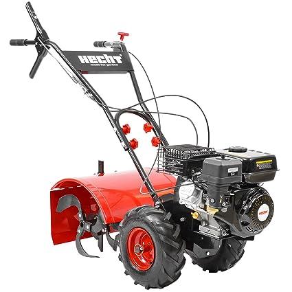 Lucio 750 de gasolina de jardín es de motor azada cultivador azada en el suelo es