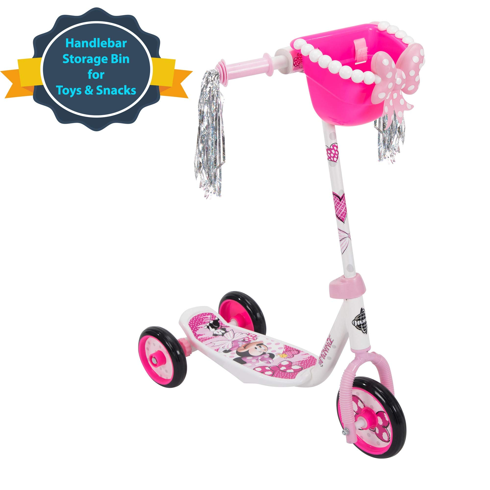 Huffy Bicycle Company Disney Minnie Mouse Preschool Scooter, One Size, Pink by Huffy