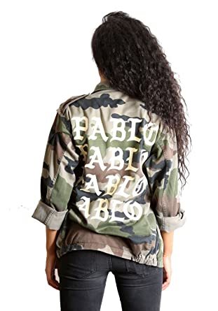 check-out 560bd 08e1b I Feel Like Pablo - Veste Militaire Camouflage