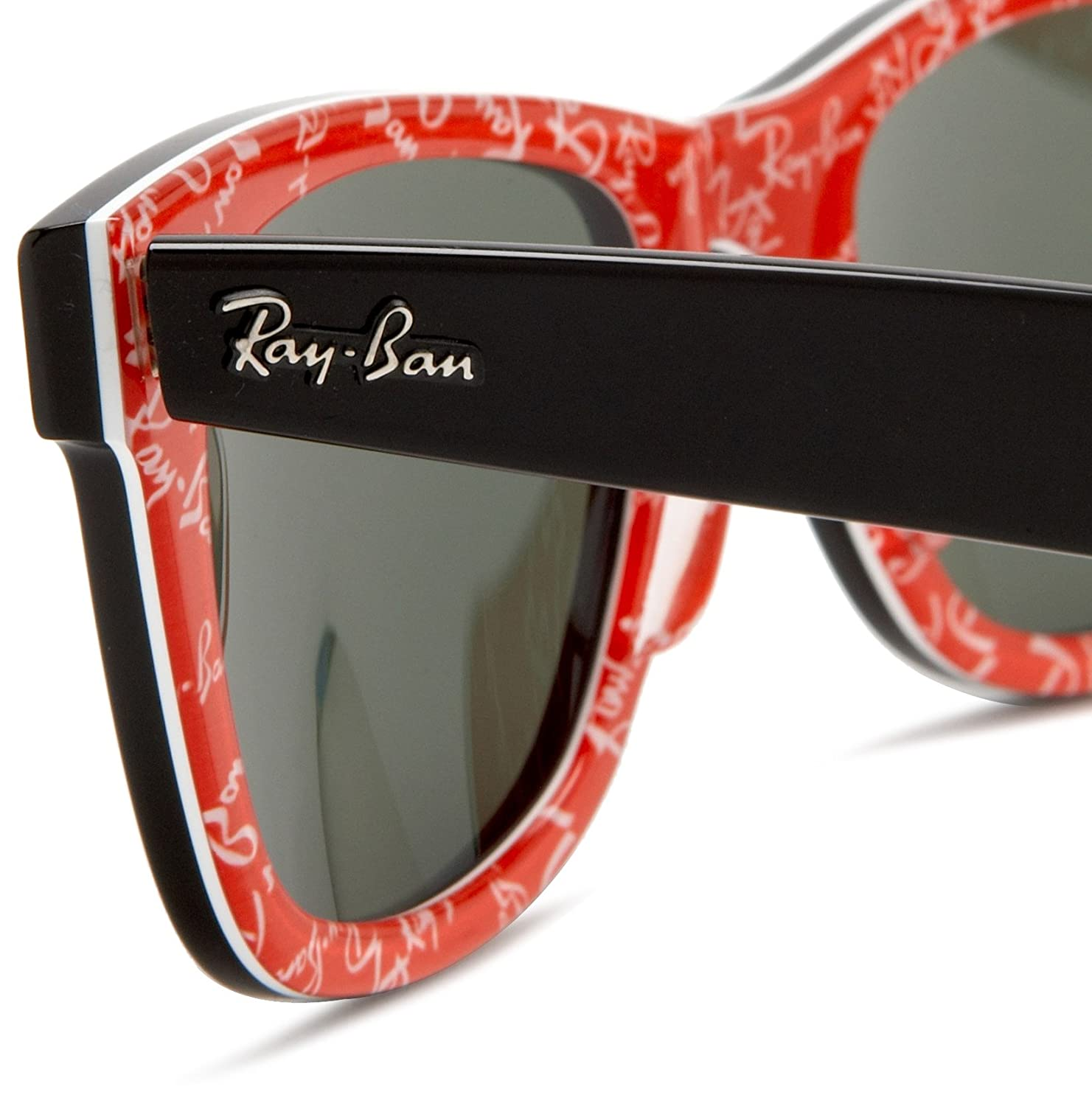 Ray Ban Red And Black