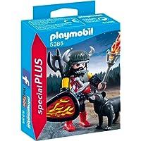 Playmobil - 5385 - Jeu - Guerrier avec Loup
