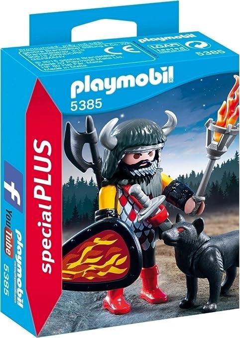 3 opinioni per Playmobil 5385- Guerriero del Lupo, Plastica