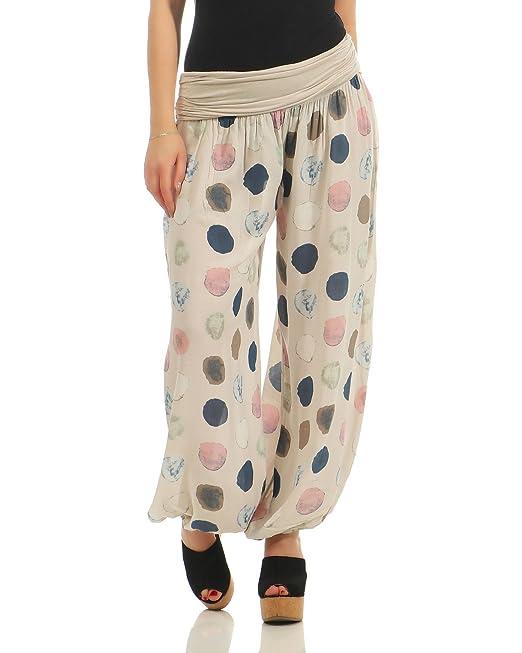 ZARMEXX Ladies Harem Pants Summer Trousers Pantalones Casual ...