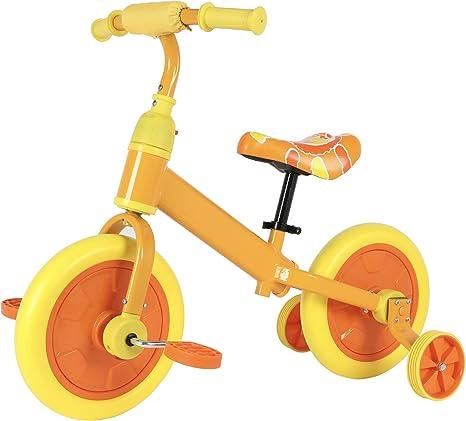 Sfeomi Bicicleta de Equilibrio para Niños 12 Pulgadas Bici para ...