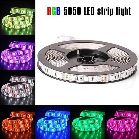 Amazon econoled 12v flexible smd 5050 rgb led strip lights econoled 12v flexible smd 5050 rgb led strip lights led tape multi colors aloadofball Images