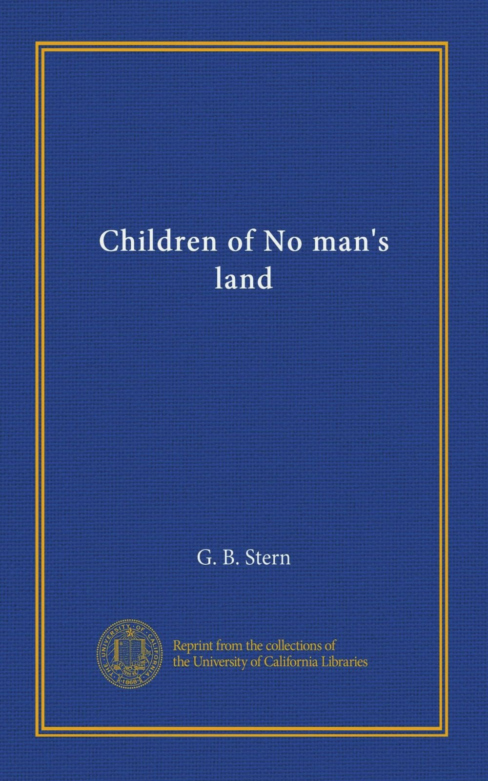 Children of No man's land pdf