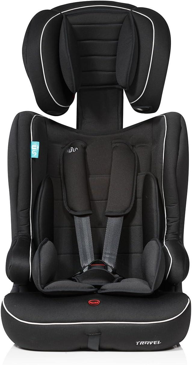 negra 9-36 kg Innovaciones MS Silla de auto Travel grupo 1+2+3