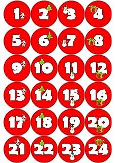 Diy Advent Calendar Craft Kit Christmas Owl Red 1 X 24 Individually