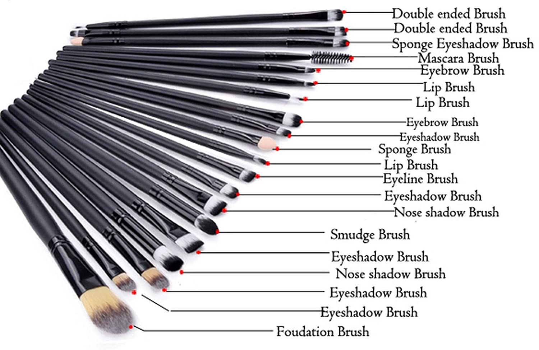 32 pcs makeup brush set uses mugeek vidalondon. Black Bedroom Furniture Sets. Home Design Ideas