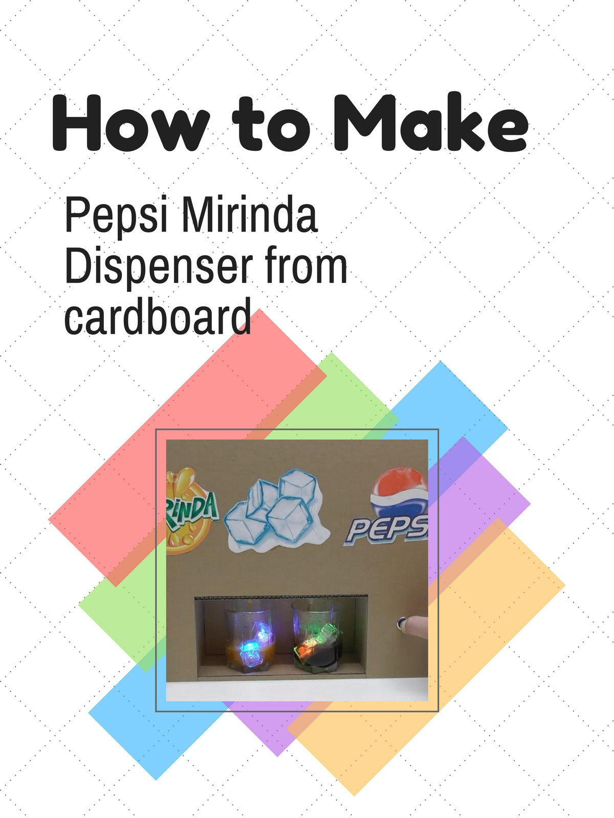 Watch How To Make Pepsi Mirinda Dispenser From Wiring Diagram For Sign Cardboard Prime Video